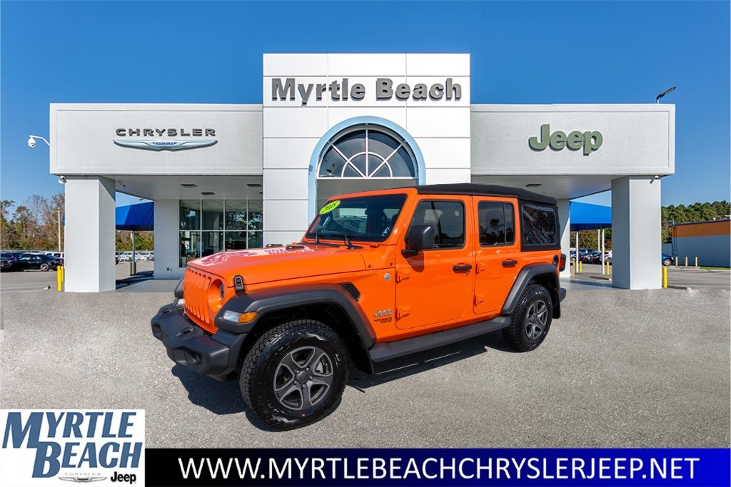 Certified Pre Owned Jeep >> Certified Pre Owned 2018 Jeep Wrangler Unlimited Sport 4wd