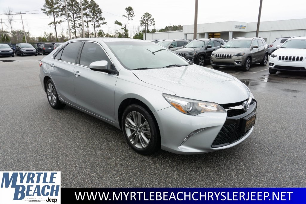 Pre Owned 2017 Toyota Camry Se 4d Sedan In Myrtle Beach P153a Chrysler Jeep